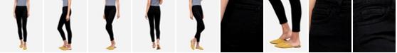 FLYING MONKEY Women's Mid Rise Skinny Crop Jeans