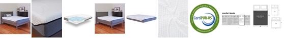 "Sleep Trends Sofia 12"" Plush Gel Memory Foam Mattress- Queen"