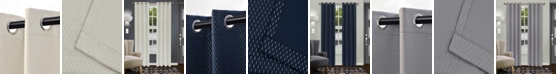 """Superior Shimmer Textured Blackout Curtain, Set of 2, 52"""" x 63"""""""
