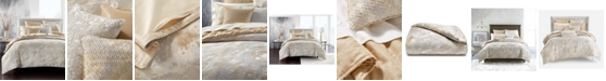 Hotel Collection Metallic Stone Full/Queen Duvet Cover, Created for Macy's