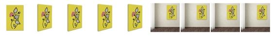 "Trademark Global Sylvie Demers 'Tanto Tiempo' Canvas Art - 19"" x 12"" x 2"""