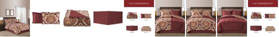 Fairfield Square Collection Estelle Reversible 8-Pc. Comforter Sets