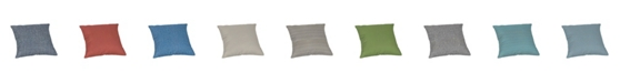 "Sunproof By Weatherproof Outdoor Square Throw Pillow, 18"" x 18"""