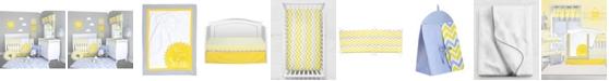 Pam Grace Creations Chevron 6 Piece Crib Bedding Set