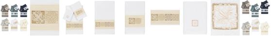 Linum Home 100% Turkish Cotton Vivian 3-Pc. Embellished Towel Set
