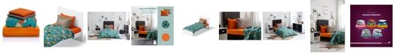 Chital Cat Print Double-Brushed Microfiber 4 Piece Full Sheet Set