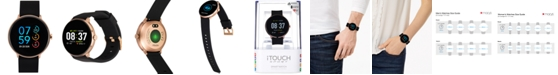 iTouch Sport Black Silicone Strap Touchscreen Smart Watch 43.2mm
