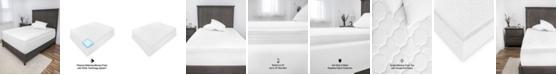 SensorPEDIC Euro Majestic 3-Inch Quilted Memory Foam Mattress Topper - Full