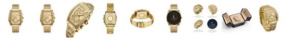 Jbw Men's Echelon Platinum Series Diamond (3 ct. t.w.) 18K Gold-Plated Stainless Steel Watch, 41Mm