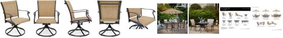 Furniture Beachmont II Outdoor Swivel Rocker, Created for Macy's