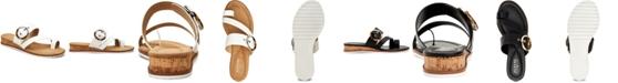 Alfani Women's Step 'N Flex Maudd Toe-Loop Demi-Wedge Sandals, Created for Macy's