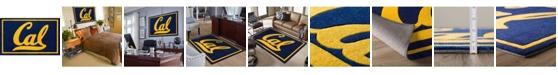 "Luxury Sports Rugs Berkley College Colbk Navy 5' x 7'6"" Area Rug"