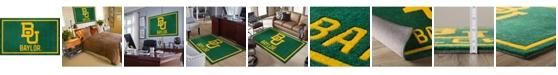 "Luxury Sports Rugs Baylor Colba Green 5' x 7'6"" Area Rug"