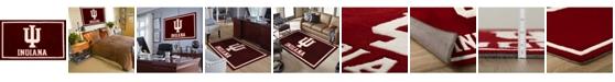 "Luxury Sports Rugs Indiana Colin Crimson 1'8"" x 2'6"" Area Rug"
