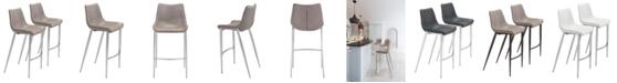 Zuo Magnus Bar Chair, Set of 2