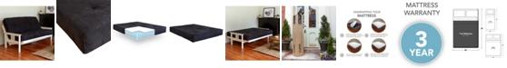 Sleep Trends Classic 8-Inch Brown Futon Mattress, Full