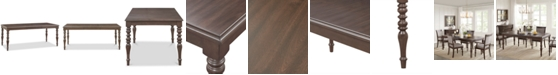 Madison Park Signature Beverly Dining Table, Quick Ship