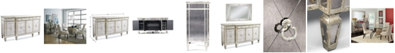 Furniture Marais Mirrored Credenza Amp Reviews Furniture