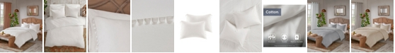 Madison Park Lillian King/California King 3 Piece Cotton Duvet Cover Set
