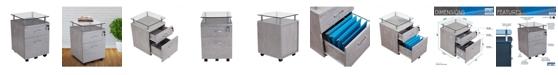 Furniture Techni Mobili File Cabinet, Quick Ship