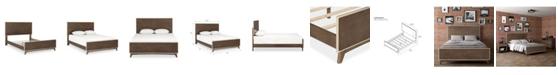 Novogratz Collection Otis Mid-Century Modern Bed, Queen