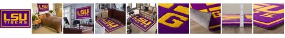 "Luxury Sports Rugs Lsu Colls Purple 5' x 7'6"" Area Rug"
