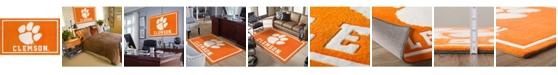 "Luxury Sports Rugs Clemson Colcl Orange 3'2"" x 5'1"" Area Rug"
