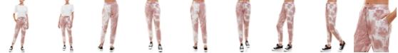 Derek Heart Juniors' Tie-Dyed Slim Jogger Pants
