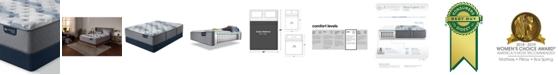 "Serta iComfort by Blue Fusion 200 13.5"" Hybrid Plush Mattress Set - Queen Split"