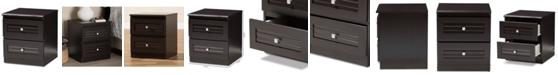 Furniture Carine 2-Drawer Nightstand
