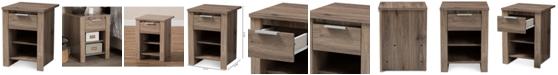 Furniture Laverne 1-Drawer Nightstand