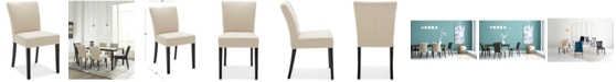 Furniture CLOSEOUT! Tate Fabric Parsons Dining Chair