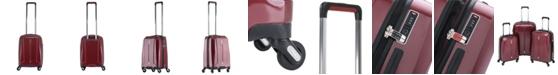 "Solite Maven Lightweight 22"" Expandable Hardside Carry-on Spinner Upright"