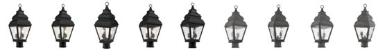 Livex Exeter 2-Light Outdoor Post Lantern