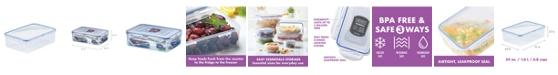 Lock n Lock Easy Essentials Rectangular 54-Oz. Food Storage Container