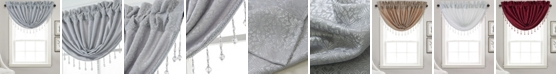 """RT Designers Collection Naples Textured Jacquard 48"""" x 37"""" Swag Valance"""