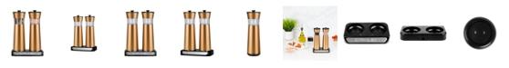 Kalorik Rechargeable Gravity Salt and Pepper Grinder Set