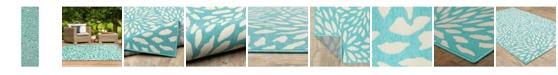 """JHB Design Apex APE02 Blue 2'3"""" x 7'6"""" Runner Rug"""