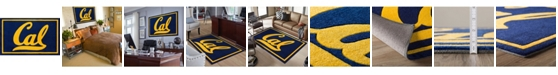 "Luxury Sports Rugs Berkley College Colbk Navy 1'8"" x 2'6"" Area Rug"