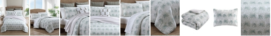 Tommy Bahama Home Tommy Bahama Distressed Palm King Comforter Set
