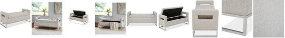 Furniture Delta Storage Bench, Quick Ship