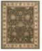 "Nourison Wool and Silk 2000 2206 Slate 5'6"" x 8'6"" Area Rug"