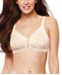 Bali Double Support Back Smoothing Wirefree Bra with Cool Comfort DF0044