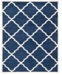 Safavieh Amherst Navy and Beige 11' x 16' Rectangle Area Rug