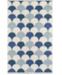 "Novogratz Collection Novogratz Topanga Top-2 Blue 3'6"" x 5'6"" Area Rug"