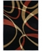 "Asbury Looms Contours La Chic 510 21329 28C Terracotta 2'7"" x 7'4"" Runner Rug"