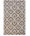"""Kas CLOSEOUT! Bob Mackie Home 1020 Beige Eye of the Peacock 7'6"""" Round Rug"""