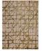 "Karastan Enigma Contact Brushed Gold  5'3"" x 7'10"" Area Rug"