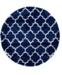 Bridgeport Home Fazil Shag Faz4 Navy Blue Area Rug Collection