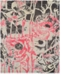 Macy's Fine Rug Gallery Neo Grey Floral Blush Area Rugs